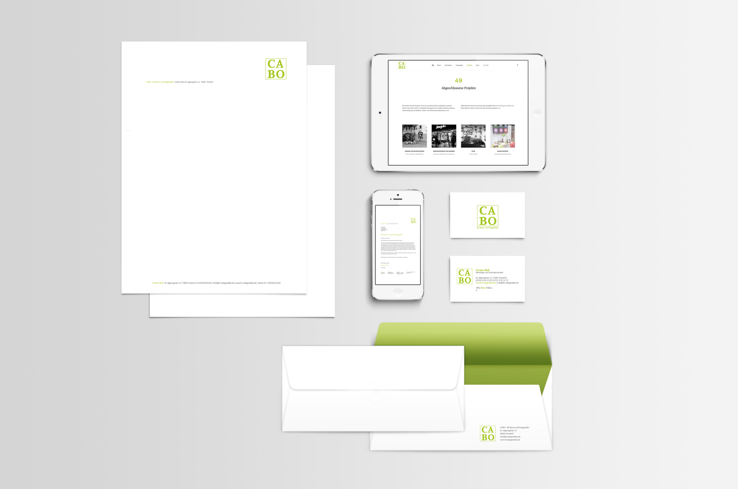 Kunde CABO Corporate Design